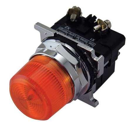 Pilot Light 120VAC Amber Model 10250T34A by USA Eaton Electrical Control Pilot Lights