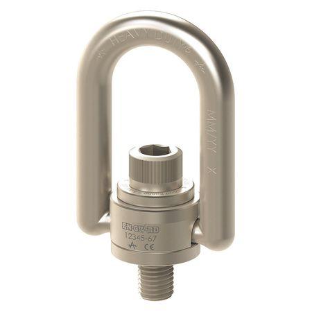 Hoist Ring,2-4-1//2in,1100 ft.-lb,SEHR