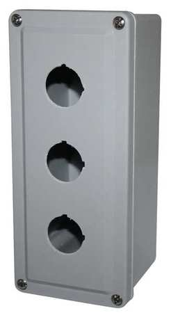 Pushbutton Enclosure 8.88 in H Plastic by USA Eaton Electrical Pushbutton Enclosures & Accessories