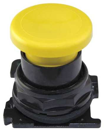 Mushroom Head 30mm Yellow Model E34LB4 by USA Eaton Electrical Pushbutton Accessories