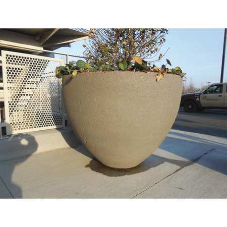 Wausau Planter Round 48in.Lx48in.Wx36in.H Type TF4122W22
