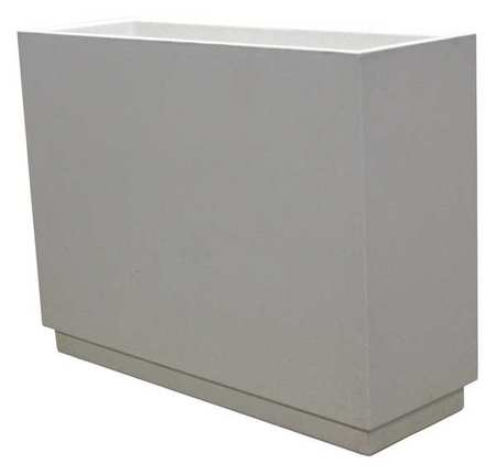 Wausau Planter Rectangle 48in.Lx16in.Wx36in.H