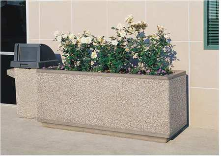 Wausau Planter Rectangle 66in.Lx18in.Wx18in.H