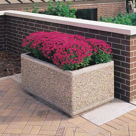 Wausau Planter Rectangle 72in.Lx30in.Wx30in.H Type TF4175W22