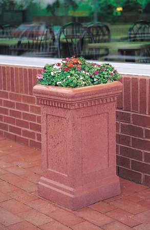 Wausau Planter Square 14in.Lx14in.Wx24in.H