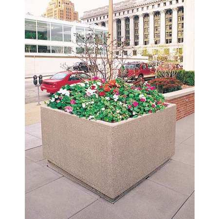 Wausau Planter Square 36in.Lx36in.Wx30in.H Type TF4195W22
