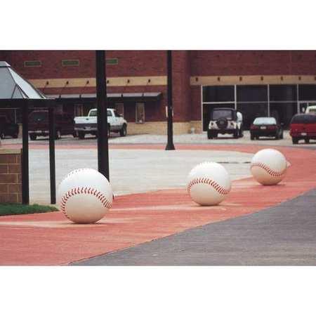 Wausau Bollard Baseball 36in.Lx36in.Wx36in.H