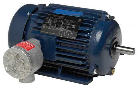 HazLoc Motor 125 HP 1785 RPM 460V by USA Marathon Hazardous Location Motors