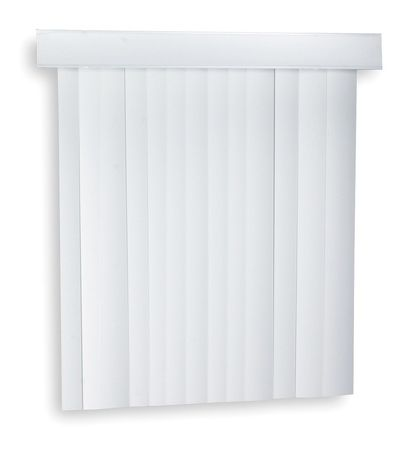 Vertical Blinds,84 X 78 In,white