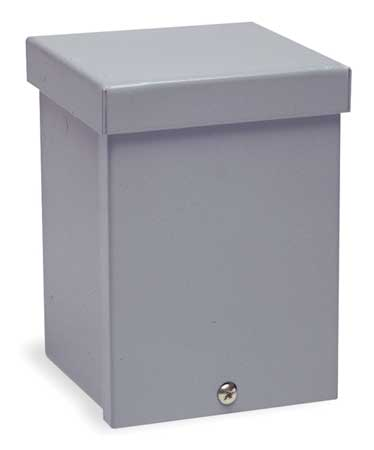 Enclosure,metallc,6in.h X 4in.w X 4in.d