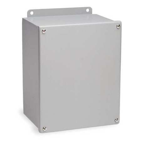 Junc Box Enclsr Mtlc 10In.Hx 8In.Wx4In.D by USA Wiegmann Electrical Enclosures