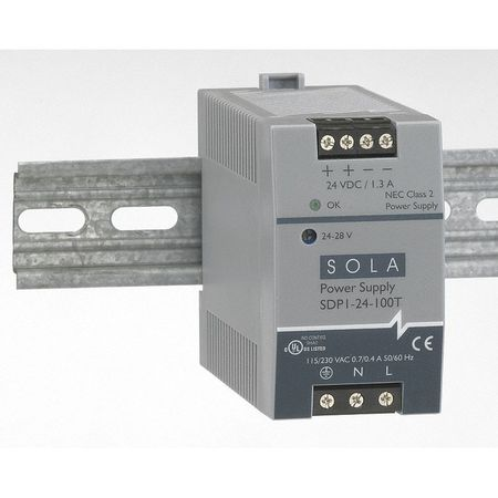 DC Power Supply 48 56VDC 1A 47 63Hz by USA Sola Hevi Duty Electrical AC DC Power Supplies