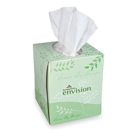 Facial Tissue,envision,cube Box,pk36