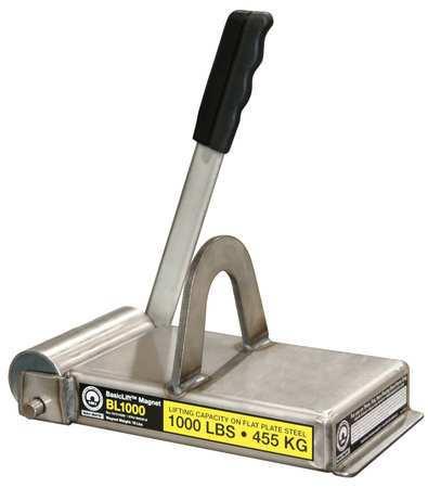 Mag-Mate Lifting Magnet 1000 lb Cap 9-1/2 In OAL