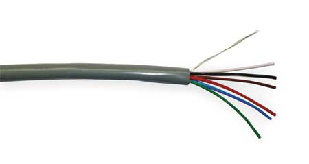 Comm Cable Riser 22/6 1000 Ft. by USA Carol Communication Cables