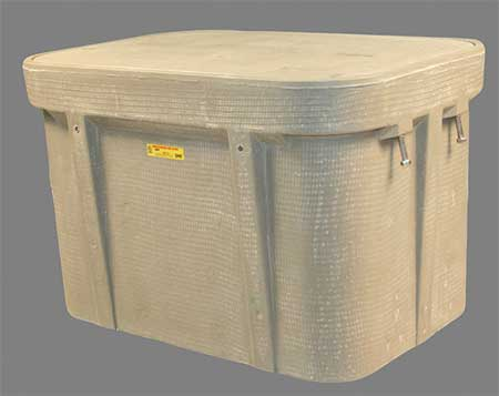 "Underground Enclosure 15 000 lb. 21""H Model PG2436Z80846 by USA Quazite Electrical Underground Enclosures"