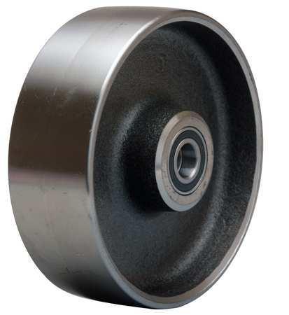 Value Brand Caster Wheel Steel 6 in. 2500 lb. Slvr