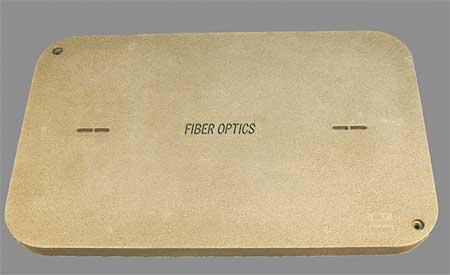 Enclosure Cover Fiber Optics PG 3 in D by USA Quazite Electrical Underground Enclosures