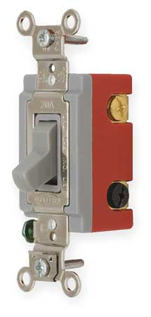 Wall Switch 4 Way 120/277V 20A Gry Toggl by USA Hubbell Kellems Electrical Wall Switches