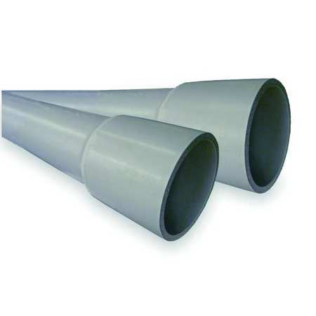Schedule 80 Conduit 2 1/2 In. 10 ft. L by USA Cantex Electrical Conduits