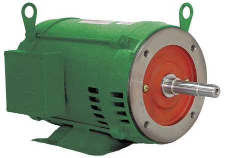 Pump Mtr 3ph 15hp 1775 208 230/460 254JM by USA Weg Close Coupled Pump Motors