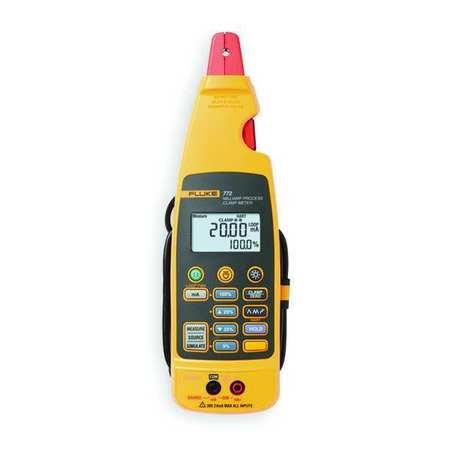 Digital Clamp Meter Dual Backlit Model FLUKE 772 by USA Fluke Electrical Clamp Meters
