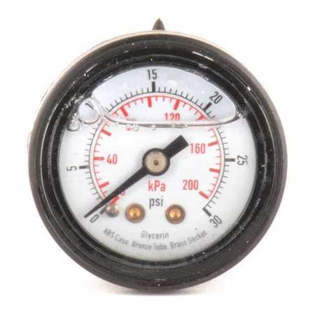 "1-1/2"" Diameter Pressure Gauges"