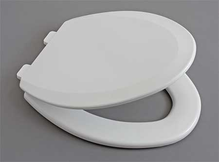 Centoco Toilet Seat Elongated 18 29 32 Closed Front With Cover White