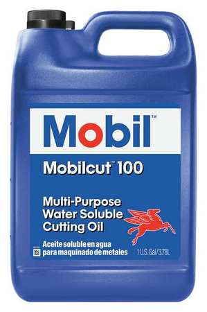 MOBIL - Mobilcut 100, Cutting Oil, 1 gal