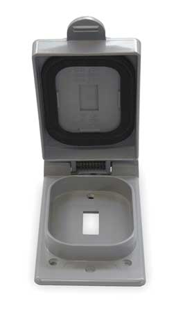 Weatherproof Cover PVC Boxes Model 5133361 by USA Cantex Electrical Weatherproof Box Covers