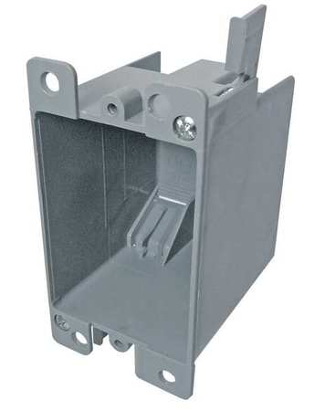 Electrical Box 1 Gang 14 cu. in. PVC by USA Cantex Electrical Boxes