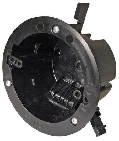 Electrical Box Round Ceiling Pan 18cu in by USA Cantex Electrical Boxes