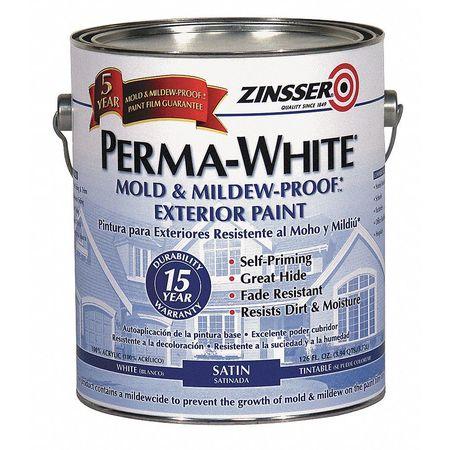 Paint,latex Acrylic,white, 1 Gal.