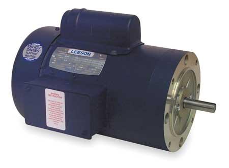 50 Hz Motor 1 HP 2850 110/220 V 56C TEFC by USA Leeson AC 50 Hz Motors