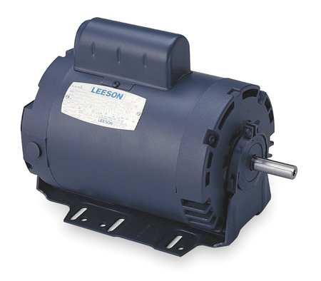 50 Hz Motor 3/4 HP 1425 110/220v 56H ODP by USA Leeson AC 50 Hz Motors