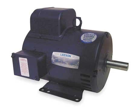 50 Hz Motor 3 HP 1440 220 V 184T ODP by USA Leeson AC 50 Hz Motors
