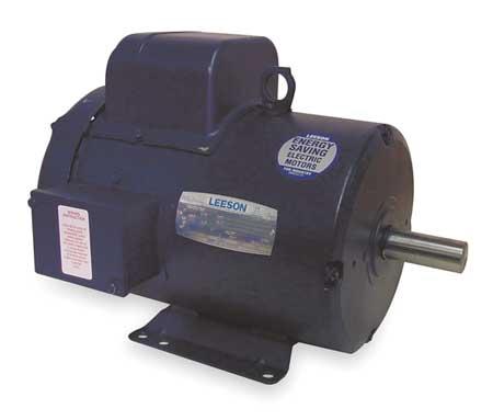 50 Hz Motor 5 HP 1440 220 V 184T TEFC by USA Leeson AC 50 Hz Motors