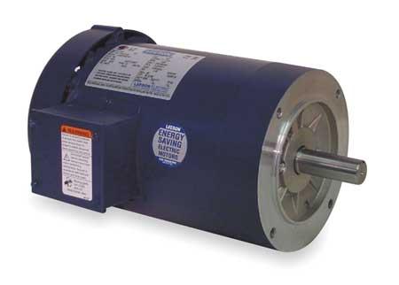 50hz Mtr 3 Ph 3/4hp 1425 220/380 440 56C by USA Leeson AC 50 Hz Motors