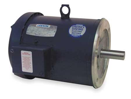 50hz Mtr 3 Ph 5hp 1425 220/380 440 184TC by USA Leeson AC 50 Hz Motors