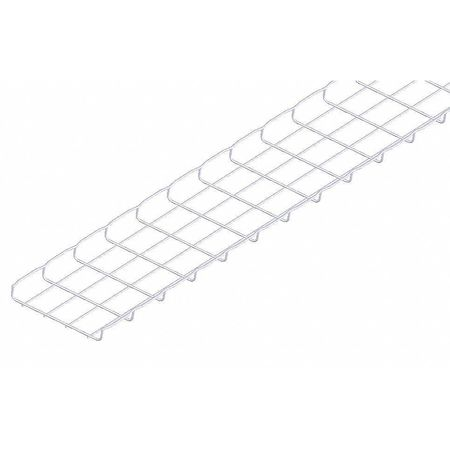 Wire Mesh Cable Tray 8x1In 10 Ft by USA Cablofil Wireways & Cable Trays