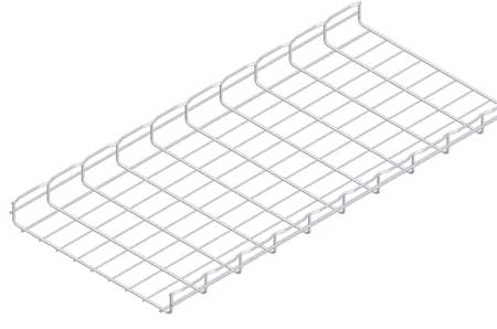 Wire Mesh Cable Tray 18x2In 10 Ft by USA Cablofil Wireways & Cable Trays
