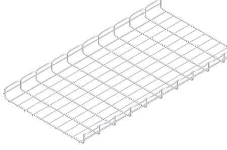 Wire Mesh Cable Tray 20x2In 10 Ft by USA Cablofil Wireways & Cable Trays