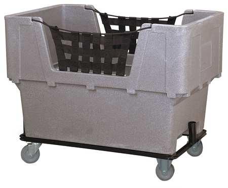 Value Brand Material Handling Cart Gray