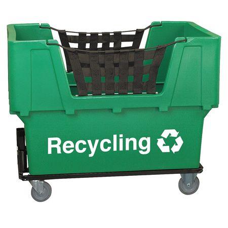 Value Brand Material Handling Cart Green Recycling