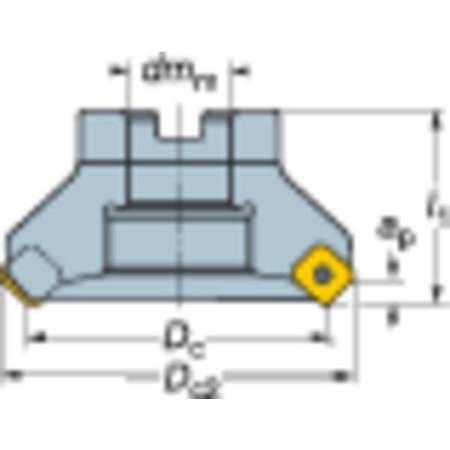A345-080J25-13H Facemill Cutter