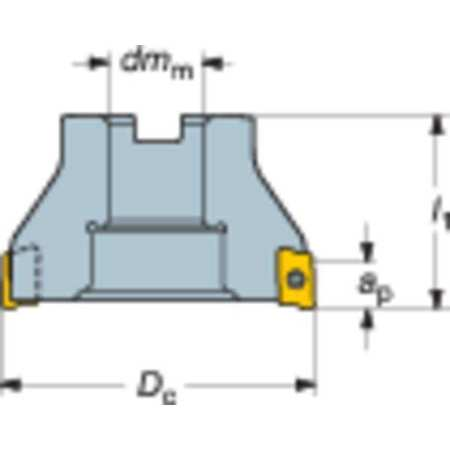 Sandvik Coromant Sq Shoulder Mill Cutter RA390 051R19 11M
