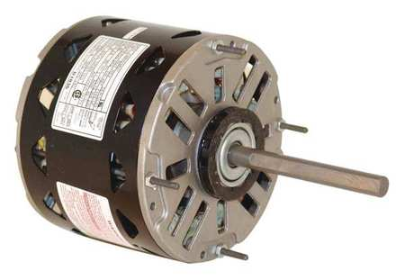 Motor PSC 1/2 HP 1075 RPM 115V 48Y OAO Model DL1056 by USA Century Direct Drive Permanent Split Capacitor Blower Motors