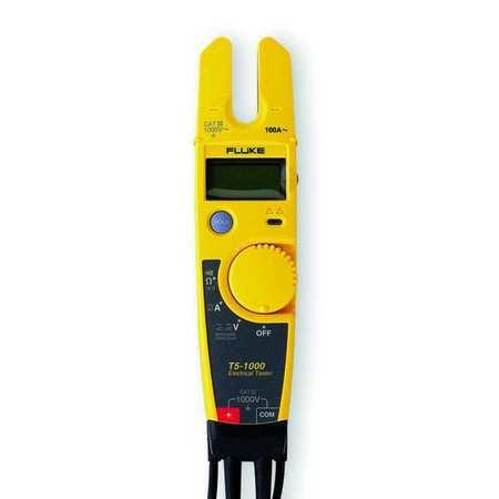 Split Jaw Clamp Meter 100A LCD Model Fluke T5 1000 NIST by USA Fluke Electrical Clamp Meters