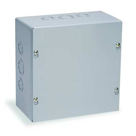 Junc Box Enclsur Mtlc 6In.Hx 6In.Wx6In.D by USA Wiegmann Electrical Enclosures