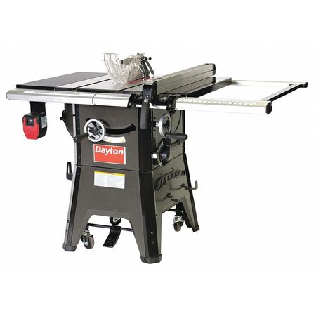 Contractor Table Saw,10 in. Blade Dia -  DAYTON, 48WE85